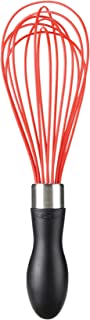 "OXO Good Grips Silicone Whisk, 9"", Yellow Good Grips® 9"" Silicone Whisk 9-inch Red/Black"