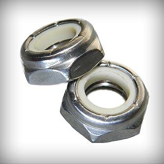 5//16-24 Fine Thread Flexloc-Alternative Nut Thin Height Light Hex Medium Carbon Steel Cadmium Plated//Wax Pk 500