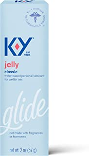 Personal Lubricant, K-Y Jelly Personal Lube,Water Based Lube For Women, Men & Couples 2 Ounce (Pack of 1)