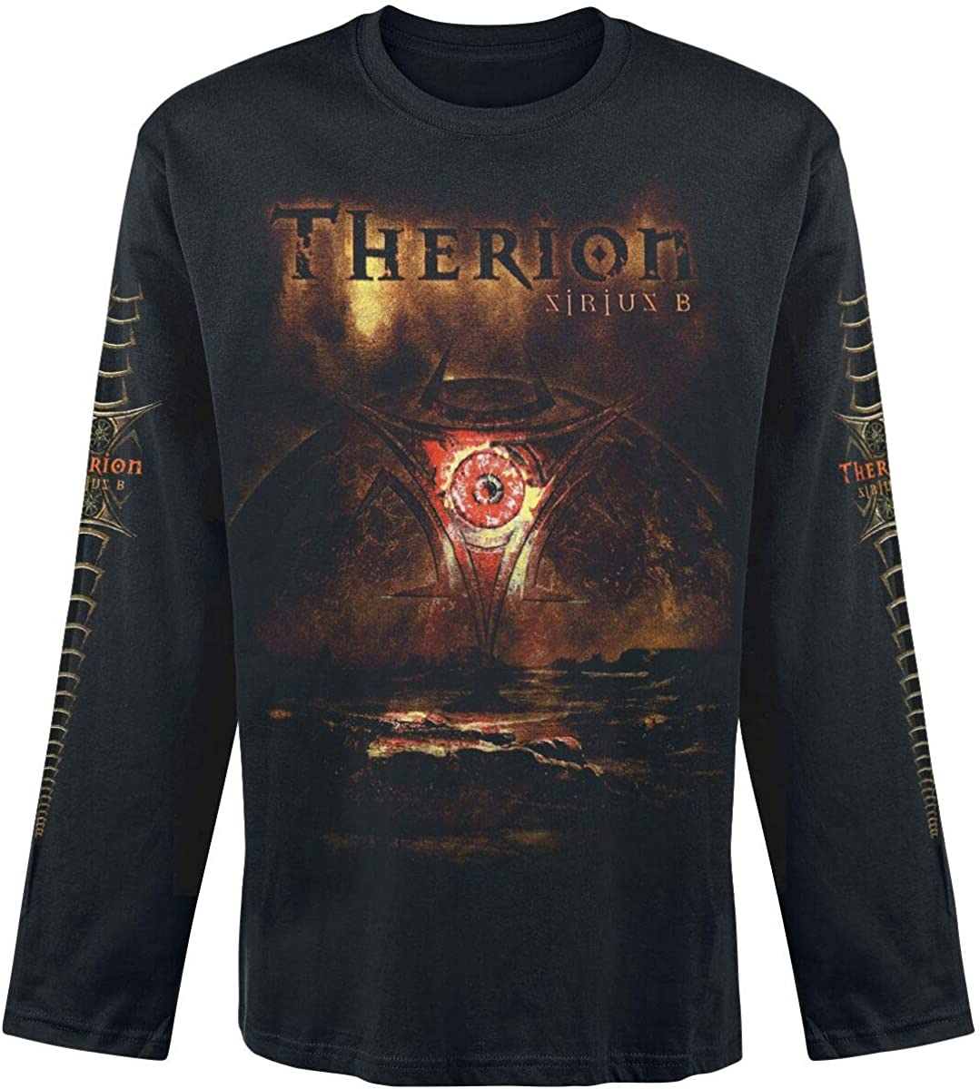 Therion T Shirt Sirius B Band Logo Nuevo Oficial De Los ...