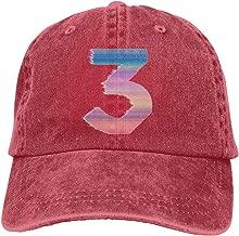 DADAJINN Chance The Rapper Cool Concert Design Adjustable Breathable Cotton Washed Denim Hat Natural