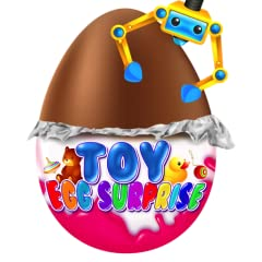 Play a ton of fun Arcade Games including: Prize Claw Grabber - Grab the Prize Chocolate Eggs, and get the Toy! Coin Shoot - Shoot coins at scored targets, and win Chocolate Egg surprise toys! Lucky Wheel Spin - Spin the wheel and win 2 prize egg choc...