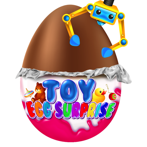 Surprise Egg - Chocolate Kids Egg Prize Toys and Prize Claw Games FREE