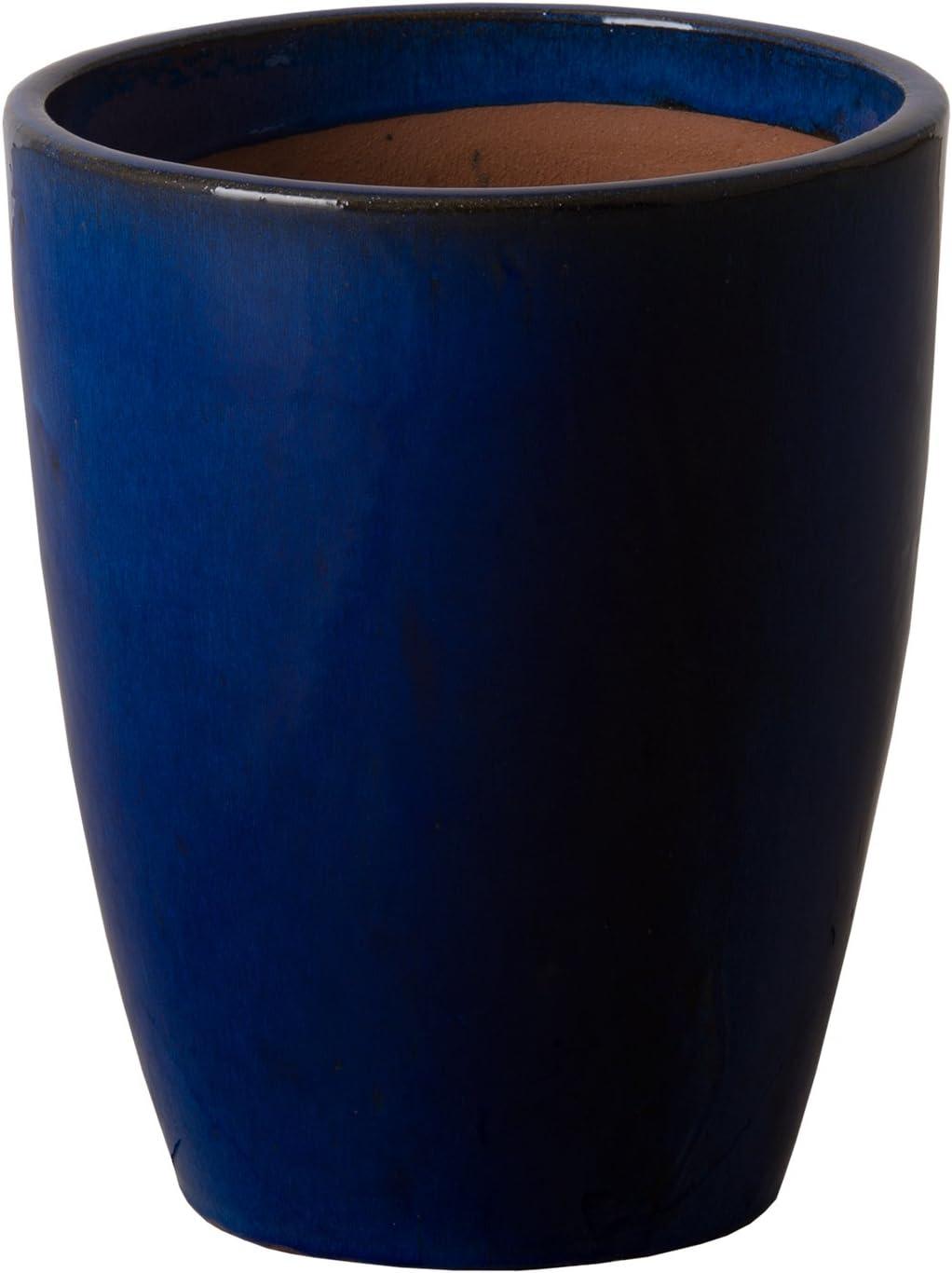 Emissary Home Garden Blue Bullet H Import Popular product Planter 14