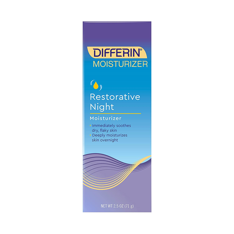 Differin Restorative Night Moisturizer Gifts 1 fl Pack Super sale period limited oz 2.5