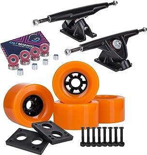 Cal 7 Longboard Flywheel and 180 Truck Combo, 83mm 78A Cruiser Skateboard Wheels