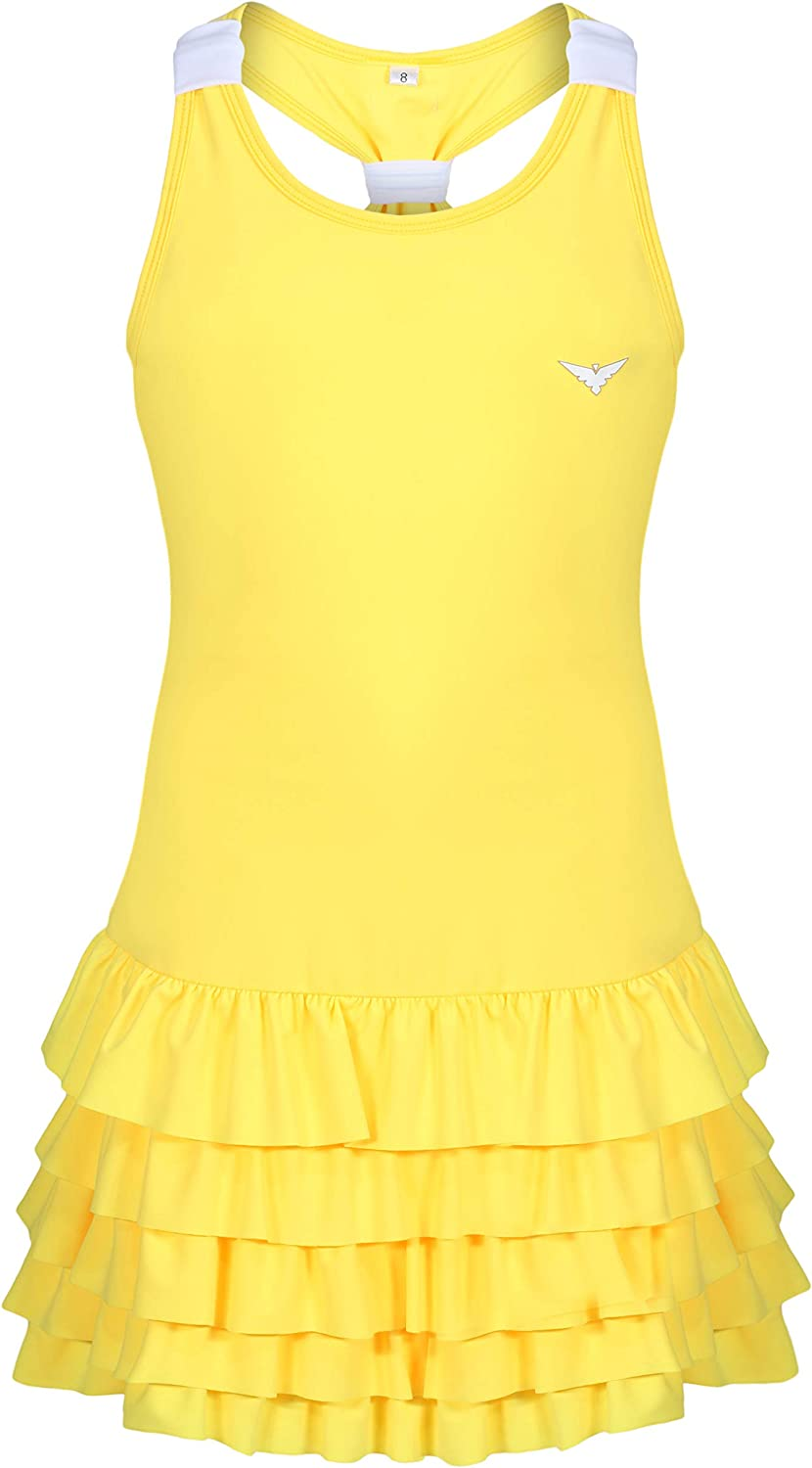 Bace Super special price Girls Tennis Los Angeles Mall Dress Frill with Golf Underpants