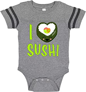 inktastic I Love Sushi- Cute Infant Creeper