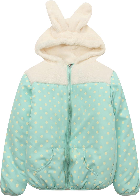 Richie House Little Girls' Padding Jacket with HoodRH1400