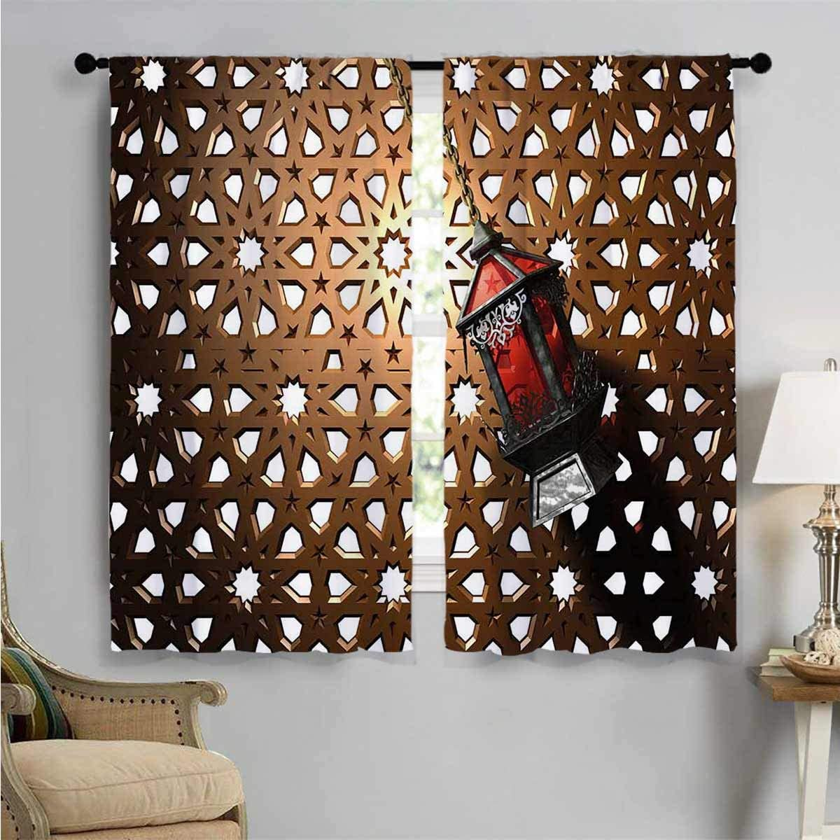 Blackout Draperies for mart Max 87% OFF Bedroom Egyptian 3D Drapes L Fanoos