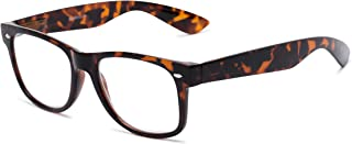 4527482c2103 Readers.com | The Red Bluff Retro Square Stylish Men's & Women's Full Frame  Reading