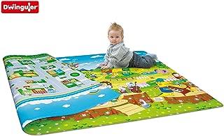Dwinguler Animal Orchestra Reversible Kids Playmat Rug Size: 4' 7.1