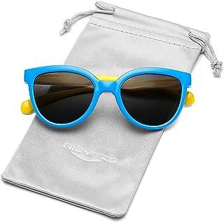 نظارات شمسية مستقطبة للأطفال، نظارات شمس مرنة من المطاط اللدن بالحرارة للحماية من الأشعة فوق البنفسجية، للبنات والأولاد من...