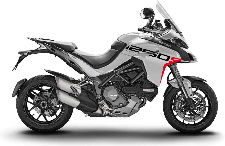 Kit Stickers Aufkleber Ducati Multistrada 1260 S Grand Tour Stil Fs Multi 1260s White Auto