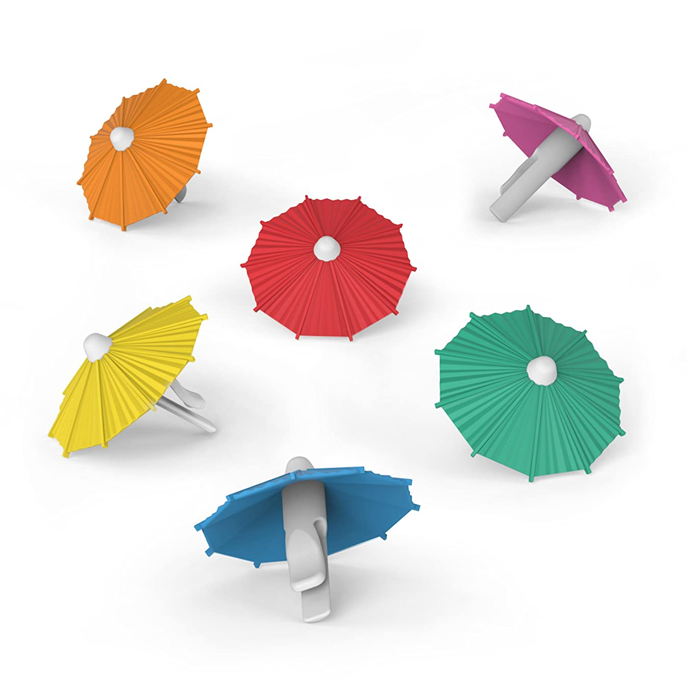 Fred MY TAI Umbrella Drink Markers, Set of 6