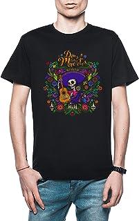 Rundi Dia De Los Muertos Hombre Camiseta Negro Todos Los Tamaños - Men's T-Shirt Black