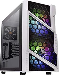 Thermaltake Commander C 31 TG Snow ARGB Edition/Dual 200MM ARGB Fans/Tempered Glass/ATX Mid-Tower Chassis