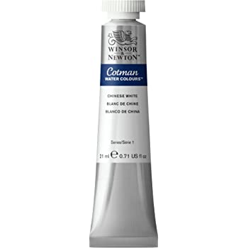 Winsor & Newton Cotman Water Colour Paint, 21ml tube, Chinese White