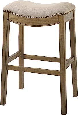 Cool Amazon Com Belham Living Hutton Backless Counter Stool Uwap Interior Chair Design Uwaporg