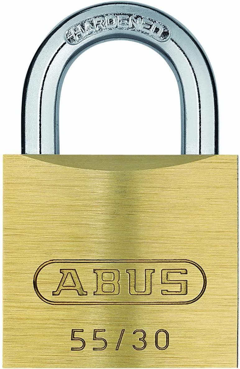 ABUS 55 Ranking TOP15 30 B KD Raleigh Mall All Steel Hardened Brass Solid with Weataher