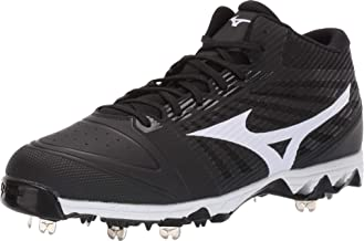 Mizuno Men's 9-Spike Ambition Mid Metal Cleat Baseball Shoe