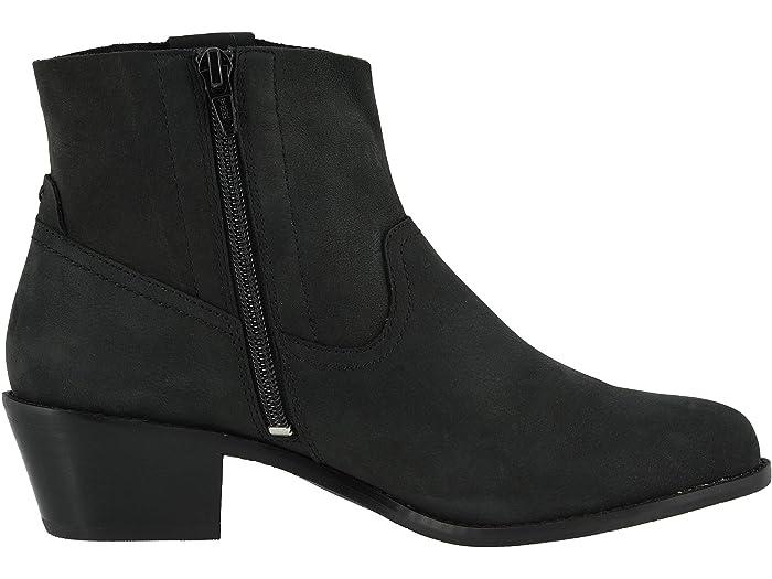 Vionic Roselyn Black Nubuck Boots