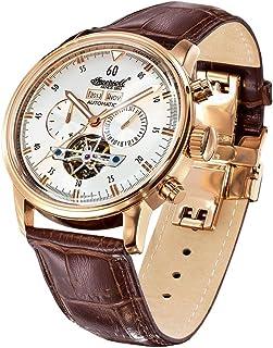インガーソル 腕時計 自動巻 2999本限定生産品 シリアルNo.刻印 フルカレンダー オープンハート Okies IN4511 並行輸入品