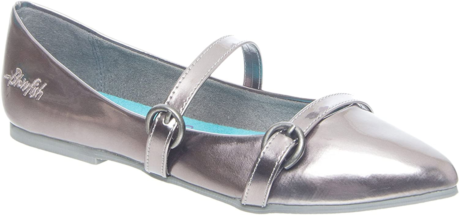 Blowfish Zaza Pointed-Toe Flat - Pewter