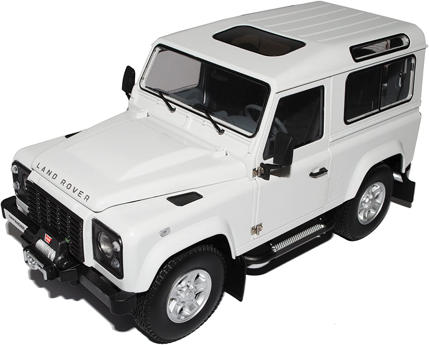 Land Rover Defender 90 Fuji Weiss 08901FW 1 18 Kyosho Modell Auto