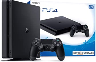 Mytrix Playstation 4 Slim 2TB Consola con control inalámbrico DualShock 4 y paquete HDMI, Playstation mejorada