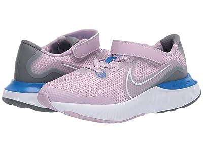 Nike Kids Renew Run (Little Kid) (Iced Lilac/White/Smoke Grey) Kids Shoes