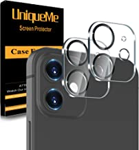 [ 2 Pack] UniqueMe Camera Lens Protector Compatible with...