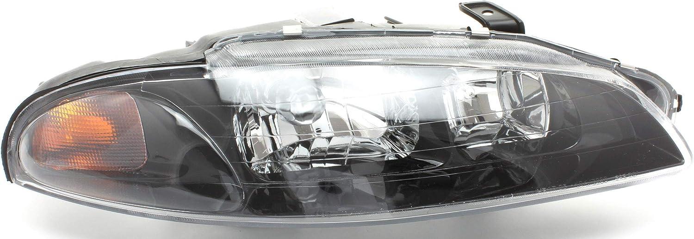 JP Auto お買得 Headlight Compatible With トレンド 1998 Mitsubishi 1997 Eclipse 1