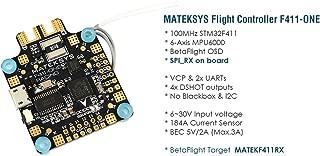 Matek System F411-One 30.5x30.5mm F4 Flight Controller AIO OSD 5V BEC Current Sensor