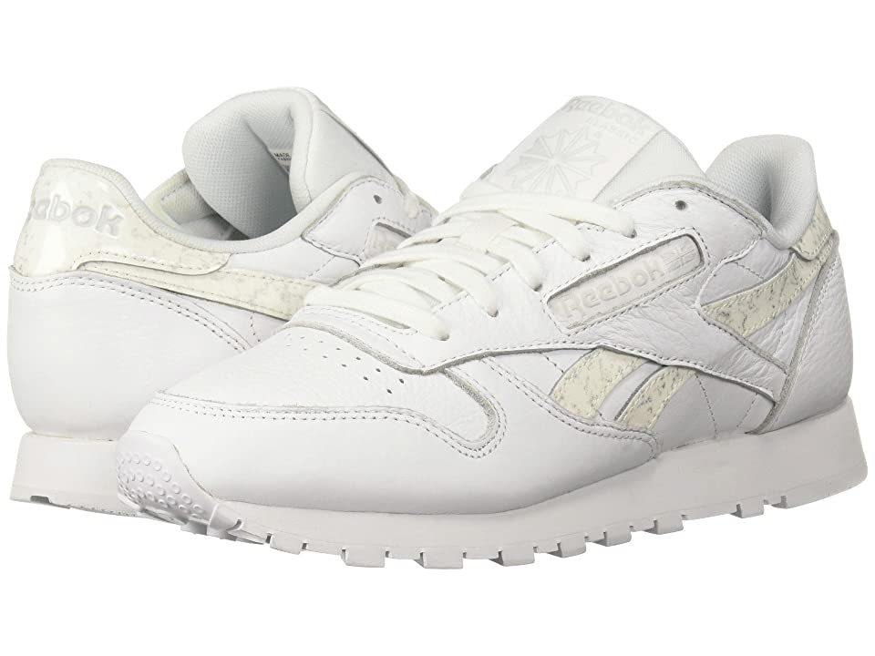Reebok Lifestyle Classic Leather (White/Light Grey) Women
