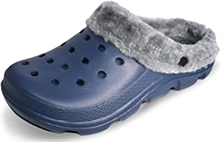 Unisex Garden Clogs Shoes Classic Lined Clog | Warm and Fuzzy Slippers