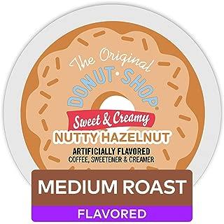 The Original Donut Shop Keurig Single-Serve K-Cup Pods, Sweet and Creamy Hazelnut Medium Roast Coffee, 60 Count