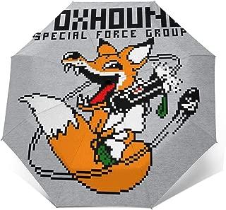 Foxhound Symbol Dirty Brass Metal Gear Solid Waterproof Leather Folded Messenger Nylon Bag Travel Tote Hopping Folding School Handbags