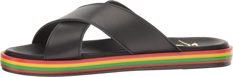 LFL by Lust for Life Women's Li-Rainbow Flat Sandal
