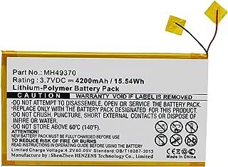Synergy Digital Synergy Digital Battery Compatible RCA RCT6203W46 Tablet Battery (Li-Pol, 3.7V, 4200 mAh) - Repl. RCA MH49...