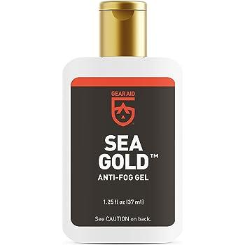 GEAR AID Sea Gold Anti-Fog Gel Coating for SCUBA Dive Masks, 1.25 oz