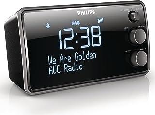 comprar comparacion Philips AJB3552/12 - Radio Despertador (1.5 W, Pantalla LCD), Negro