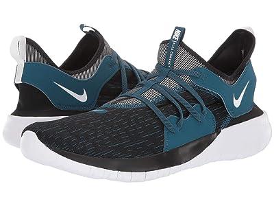 Nike Flex Contact 3 (Black/Topaz Mist/Blue Force) Men