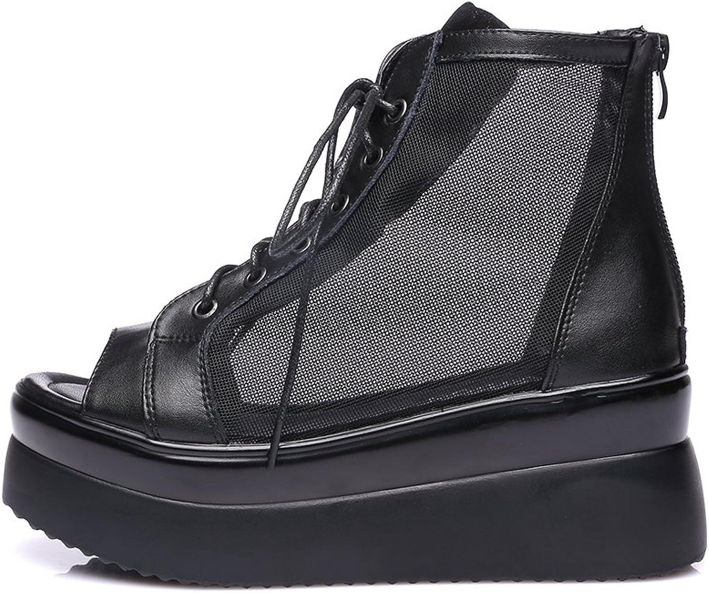 GFYDC Lady Peep Toe High Heel Back Zipper Sandals Summer shoes Women