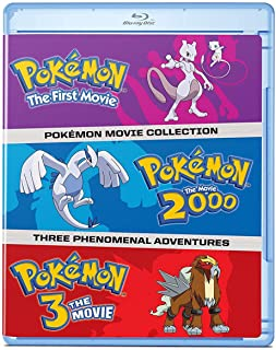 Pokémon: The Movies 1-3 Collection (Blu-ray)