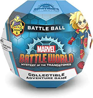 Funko 37655 Marvel Battleworld: Battle Ball Series 1 - Collectible Adventure Game