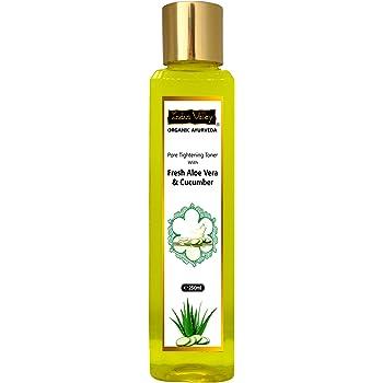 Indus Valley Organic Ayurveda Fresh Aloe Vera & Cucumber Water Pore Tightening Skin Toner 250ml