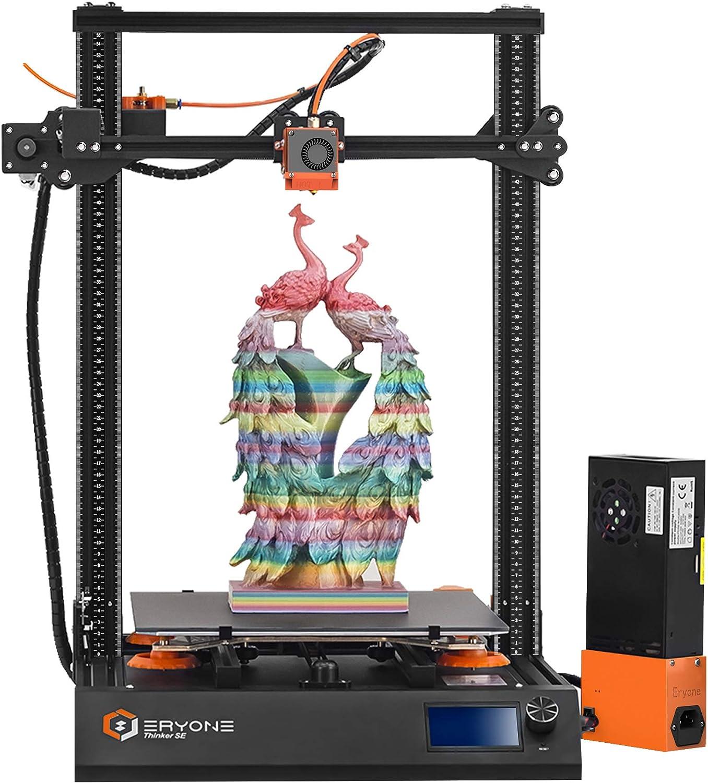 Imprimante 3D Eryone Thinker SE Super Quiet, super lit en verre enduit, taille d'impression 300x300x400mm