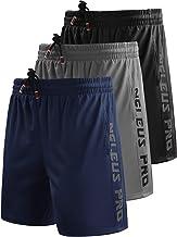 Neleus Men's Lightweight Workout Running Athletic Shorts with Pockets