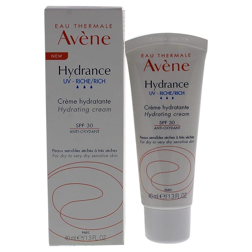 朝の体操をするスポークスマン電信アベンヌ Hydrance UV RICH Hydrating Cream SPF 30 - For Dry to Very Dry Sensitive Skin 40ml/1.3oz並行輸入品